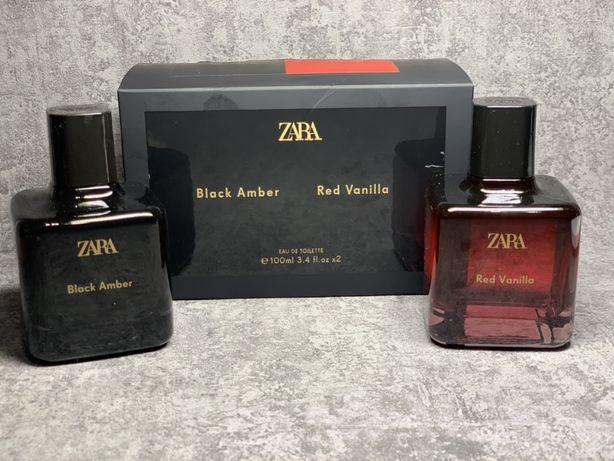 Духи женские Zara Red Vanilla / Black Amber  100 мл , новые с набора