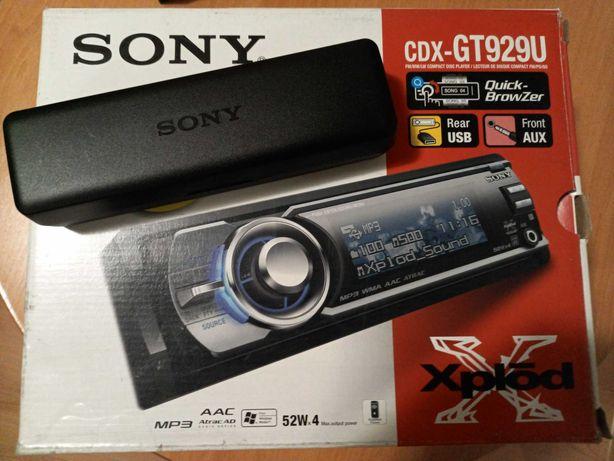 Sony CDX gt929u pełny komplet