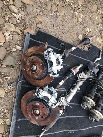 Renault sandero мотор коробка стойки рульва глушак каталізатор