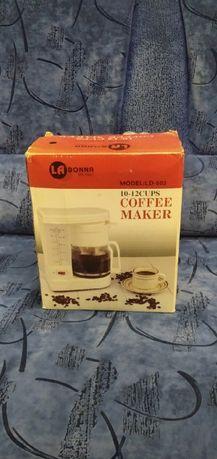 Продам кофеварку LA DONNA LD-602 10-12 CUPS(новая)