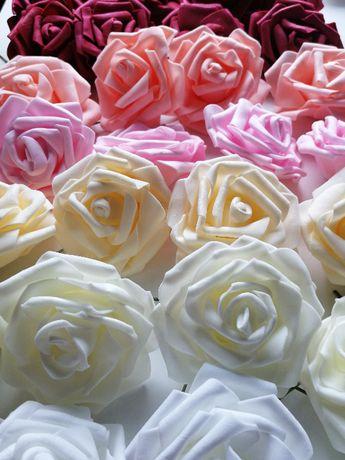 Piankowe róże 8cm