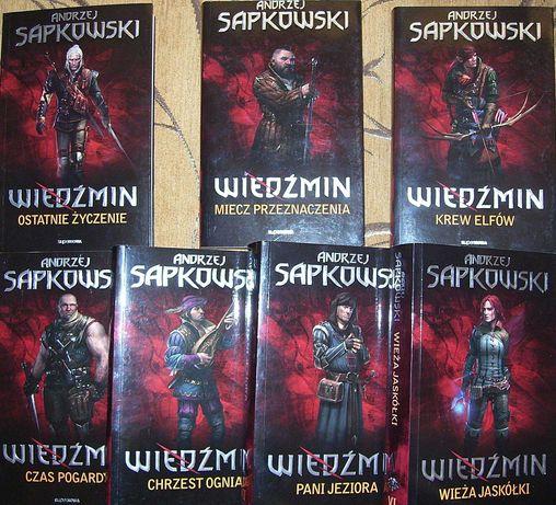 Wiedźmin Andrzej Sapkowski seria 1-7