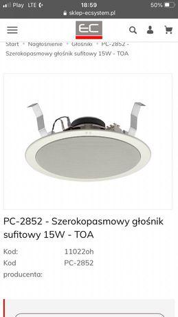 TOA PC-2852 głośnik szerokopasmowy