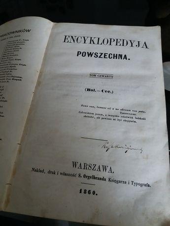 Encyklopedia powszechna 1860 tom 4 orgelbrand