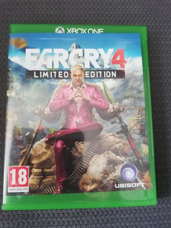 Gra Xbox one s Farcry 4 limited edition