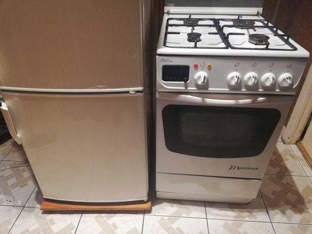 Sprzedam lodówkę i kuchenkę gazowo elektryczna.