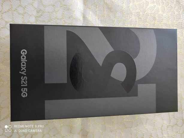 Samsung Galaxy S21  128 GB szary Nowy