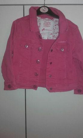 Różowa kurteczka dla dziewczynki C&A 98 cm