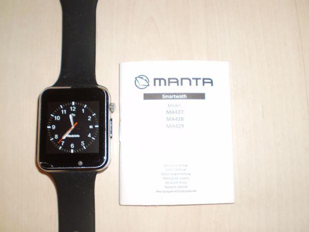 Smartwatch zegarek na kartę SIM+microSD MANTA MA427, TANIO!! OKAZJA!!