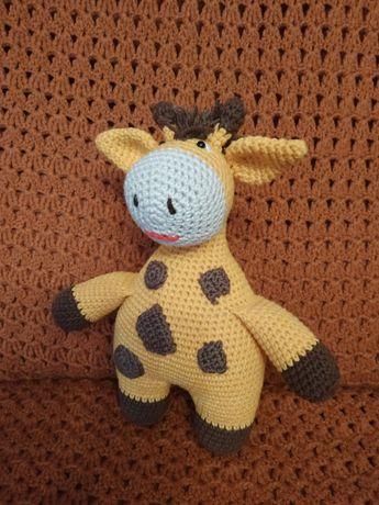 Żyrafka - amigurumi