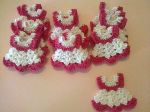 Lembranças para batismo em crochet