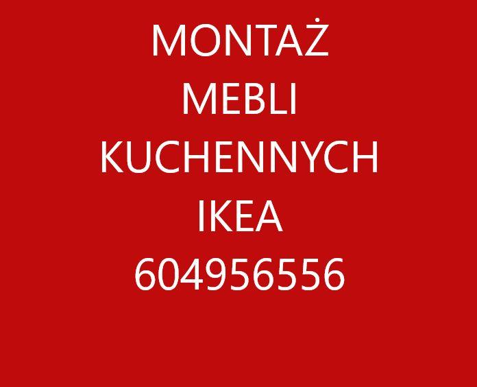 Montaż kuchni i składanie mebli IKEA Agata i inne Warszawa - image 1