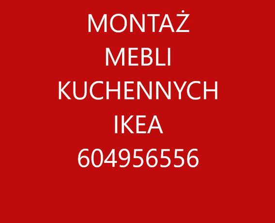 Montaż kuchni i składanie mebli IKEA Agata i inne