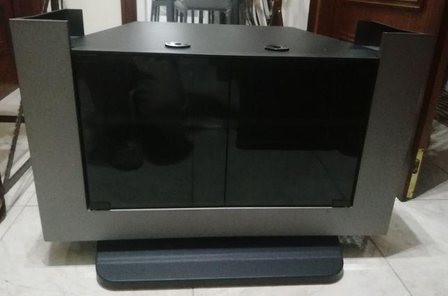 Móvel de TV cinza