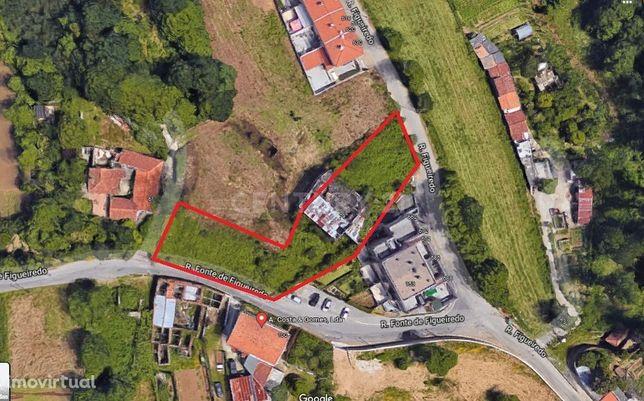 Terreno em Pedroso com 1400m2 e duas frentes de rua
