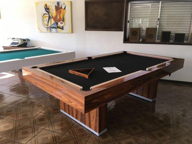 Bilhar / Snooker NOVO em Madeira de Pau ferro