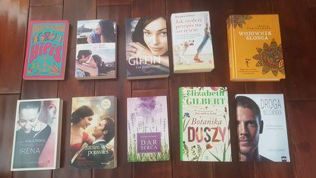 10 książek zestaw Coelho, Pawlikowska, Gilbert,
