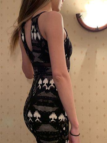 Брендовое коктейльное платье