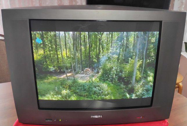 """Telewizor Philips 29"""" 100Hz + dekoder DVB-T + Gratis"""