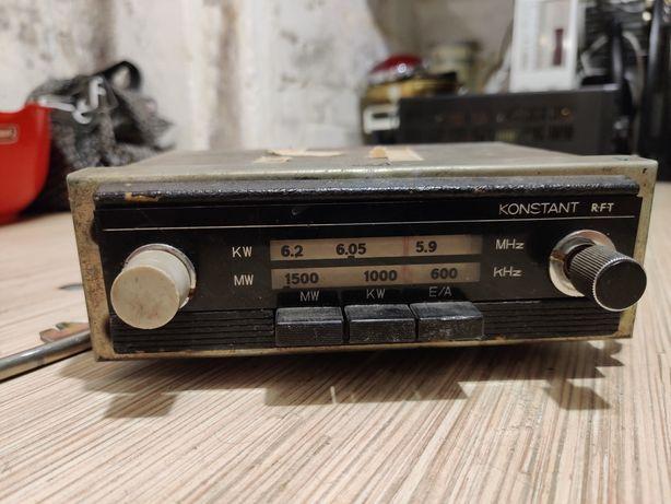 Radio wartburg trabant RFT Konstant Oryginał DDR NRD