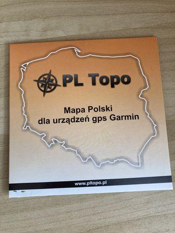 Mapa PL Topo dla urządzen Garmin