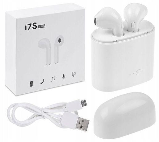 słuchawki bezprzewodowe z powerbankiem i7s TWS