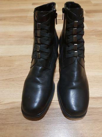 Ботинки,черевики жін.,шкіра,41р.,Mary Ann,Італія