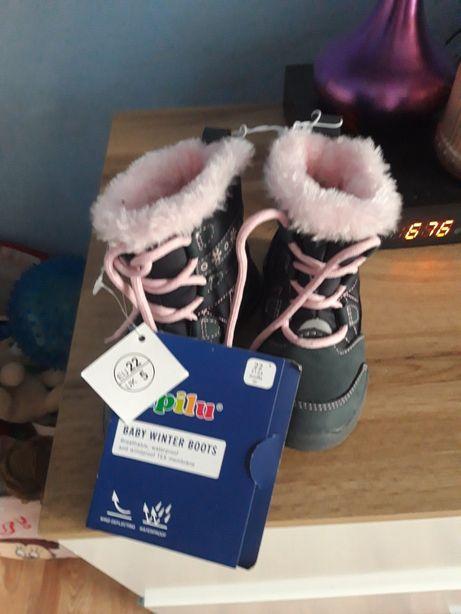 Sprzedam nowe nie używane buty na zime roz 22