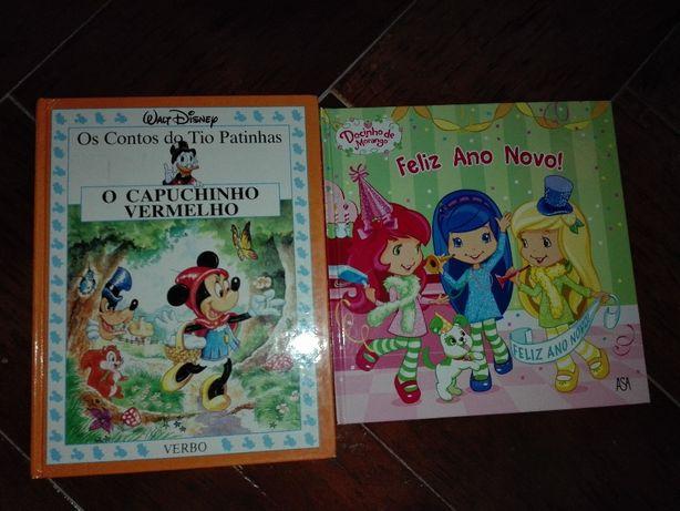 Vendo 2 livros. JÁ com PORTES
