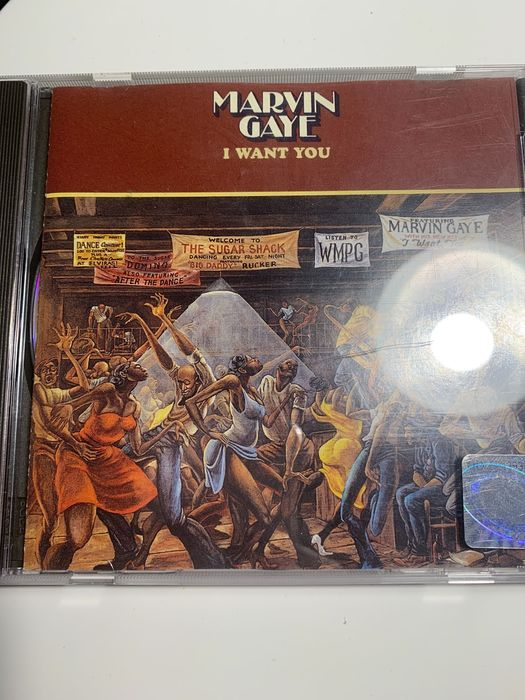 Marvin Gaye I want you CD Wrocław - image 1