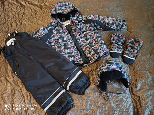 Зимний Комбинезон костюм  lenne  104 шлем краги