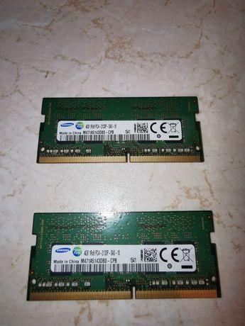 Sprzedam pamięć ram DDR4 2x4Gb 2133Mhz SO-DIMM firmy Samsung