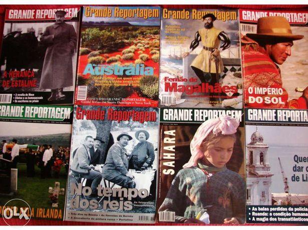 Revista Grande Reportagem-2a.série 1991-99 / dir. Miguel Sousa Tavares