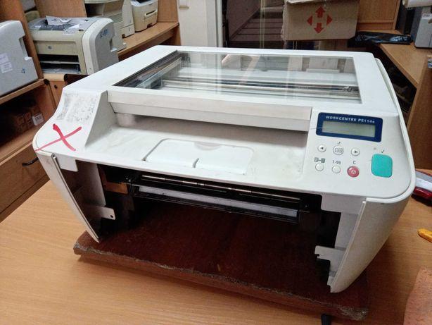 Лазерное МФУ Xerox WorkCentre PE114e (не рабочий)