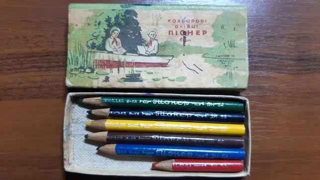 """Цветные карандаши """"Пионер"""""""
