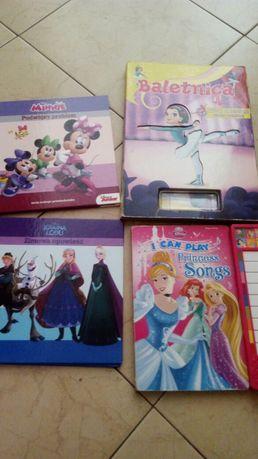 ksiazki książeczki ramka dla dziewczynki