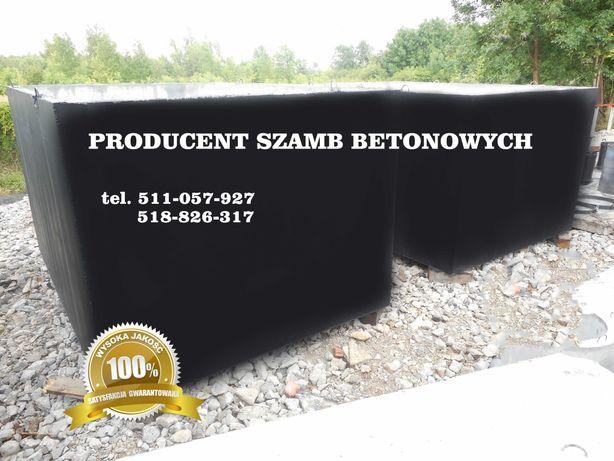 Szamba / szambo betonowe / Zbiornik betonowy / Piwnica MONTAŻ GRATIS