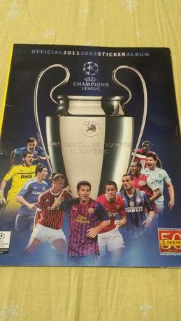 Журнал наклеек Panini League Champions 2011-2012