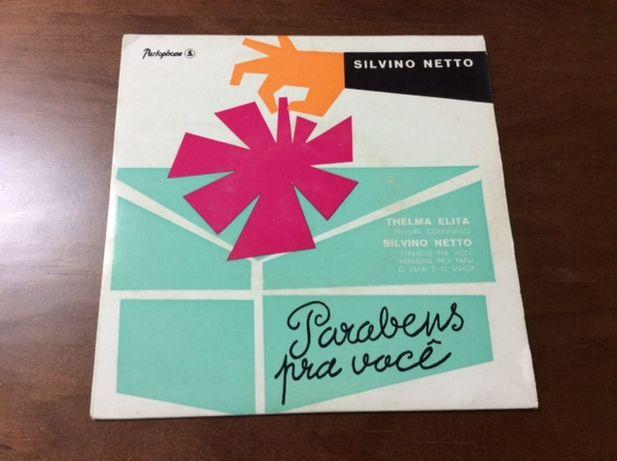 Disco de vinil (single) - Silvino Netto e Thelma Elita