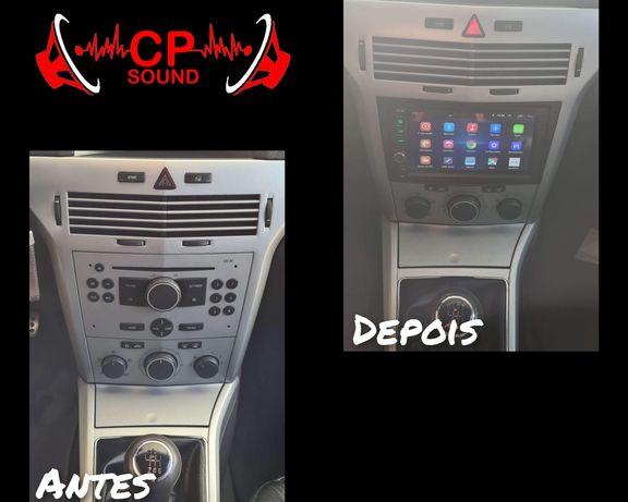 Montagem e venda de Auto Radio Subwoofer Amplificador Colunas em carro