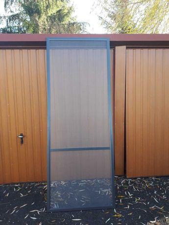 Moskitiera drzwiowa antracyt