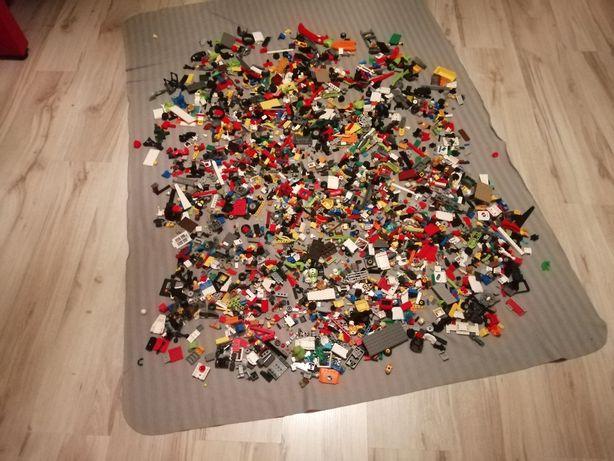 Klocki lego Mix waga 3kg i 300 gram