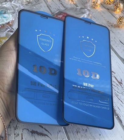 Защитное стекло на айфон  х,11Pro/11Pro Max,6,7,8+,Хr,5,5s,se