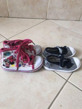 Buciki trampki dla dziewczynki rozmiar 22