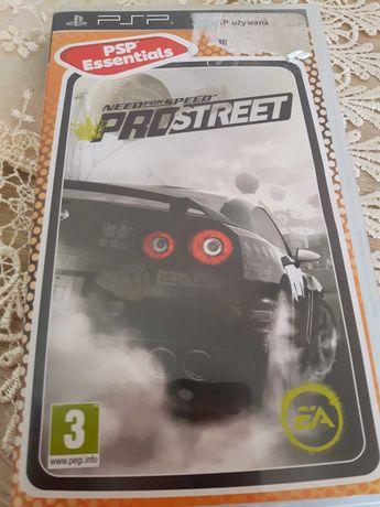 Gra na PSP  Need For Speed ProStreet