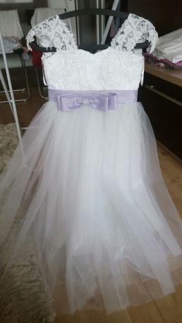 Sukienka na komunię ślub