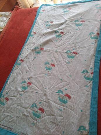 Edredon de cama de grades com piratinhas