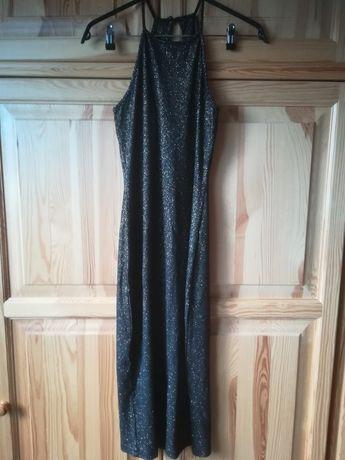 Elegancka sukienka sylwester rozm. 38, Nowa + Gratis.