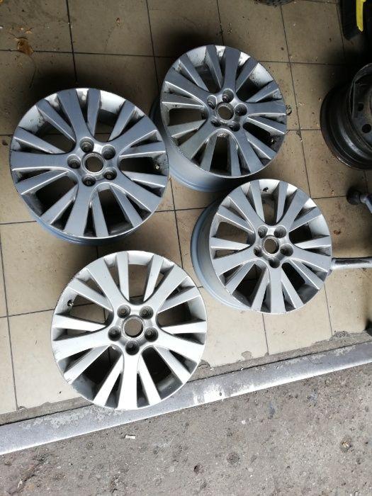 Felgi aluminiowe 17 5X114,3 ET60 Mazda 3 5 6 626 Montaż Wolsztyn Wolsztyn - image 1
