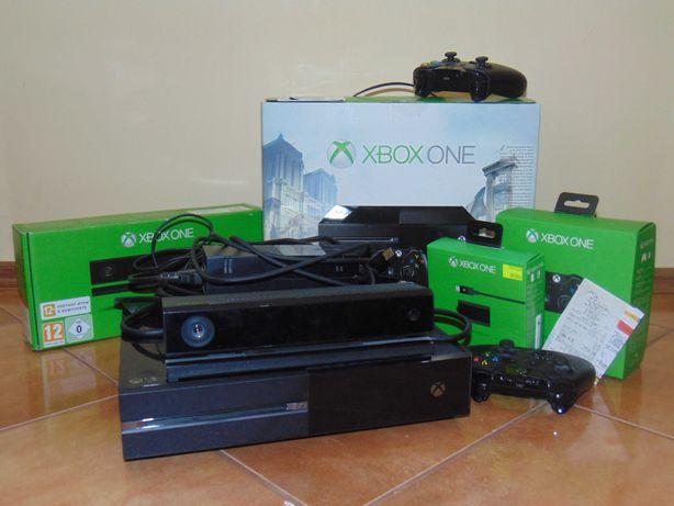 Konsola Microsoft Xbox One 500 GB + 2 pady +kinect sensor